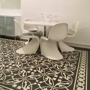 Zementmosaikplatten