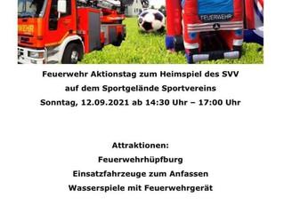 12.09.2021 / 14:30-17:00 Feuerwehr Aktionstag beim SVV
