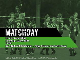 10.10.2021 Heimspiel der Frauen gegen Aschaffenburg