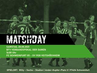 28.08.2021  Pokalspiel der Damen in Schweinfurt