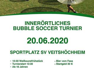Bubble Soccer Turnier 2020