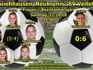 21.10.18  FSV 07 Holzkirchhausen/Neubrunn e.V. - SV Veitshöchheim