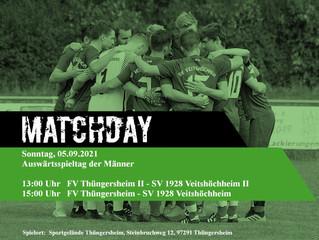 05.09.2021 I Derbytime der 2 Herrenteams in Thüngersheim