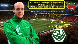15.01.21 - 20:00 im Wohnzimmer-Cup gegen Gelchsheim! Für Näheres und dem Link bitte hier anklicken.