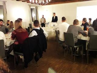 12.01.19  Jahresabschlußfeier der Männer bei unserem Sponsor Christian Heilmann im Ratskeller Veitsh