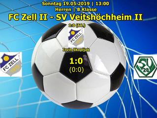 19.05.2019  Herren B-Klasse: FC Zell ll - SV Veitshöchheim ll   1:0 (0:0)