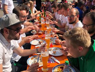 19.05.2019 Aktive beim Floriansfest der Feuerwehr in Veitshöchheim