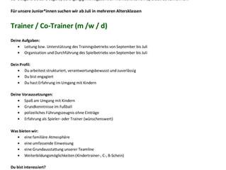 SVV/SVO sucht Trainer für die Jugend