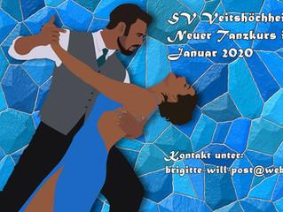 Januar 2020: Tanzkursangebot beim SVV