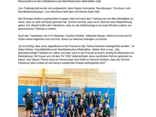 Inklusion trifft Fußball
