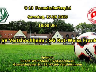 17.08.2019  D-Jgd. Freundschaftsspiel gegen Rot-Weiss Frankfurt