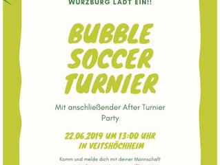 22.06.19  Bubble Soccer Turnier der Kolping Jugend beim SVV