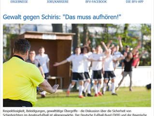 31.10.19  Gewalt gegen Schiris: Offener Brief von DFB und BFV an die Schiris!