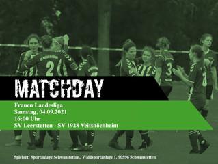 04.09.2021 - 16:00 I Spielankündigung Damen in Leerstetten