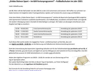 Fußballschule für ALLE Kids (auch Nichtmitglieder) geb. 2008 - 2016