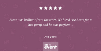 Add to Event Testimonial