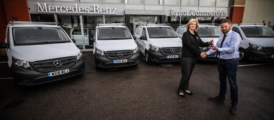 New fleet hits the road...