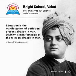 swami vivekanand quotes bright school