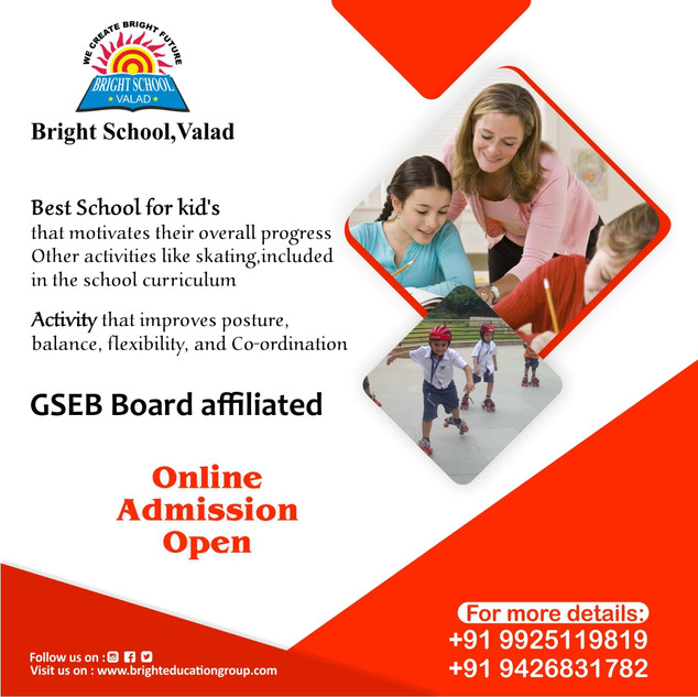 Online admission open skating actitvity