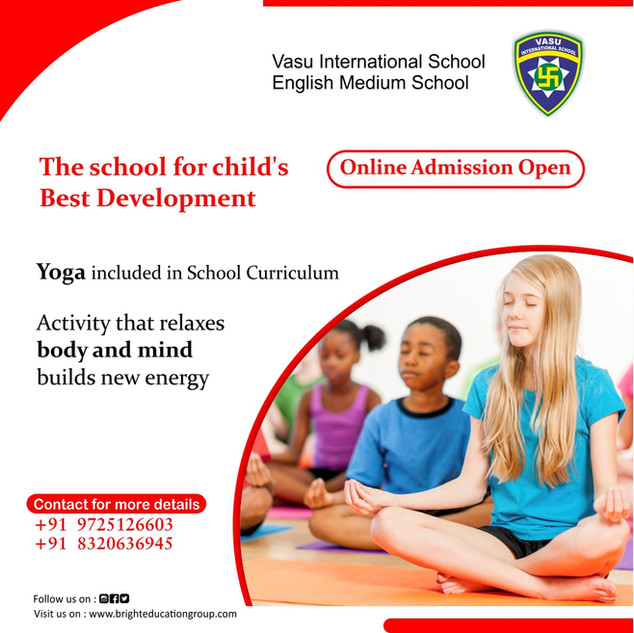 yoga activity at school online admission