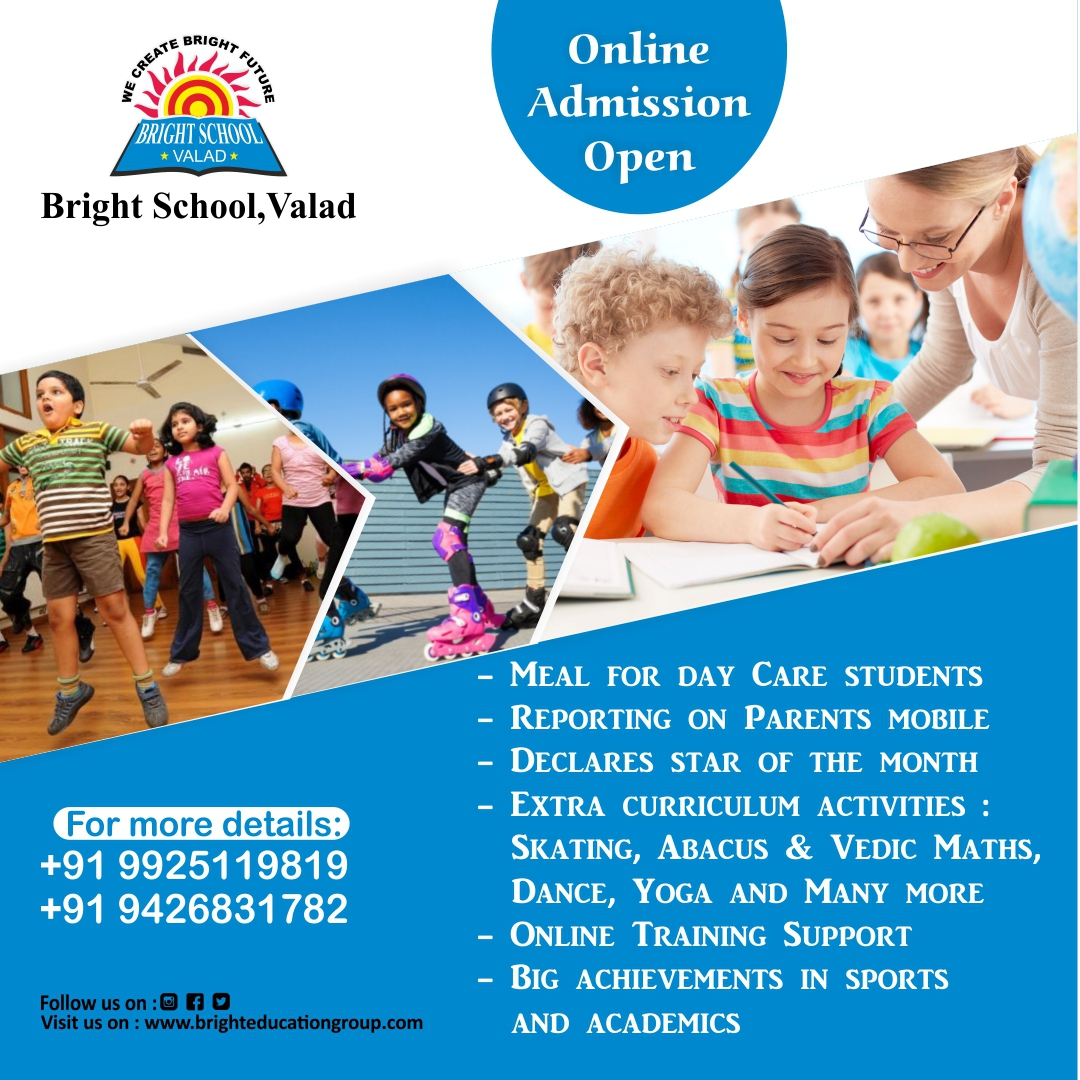 Bright school valad admission open onlin