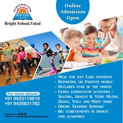 Bright school valad admission open onlin