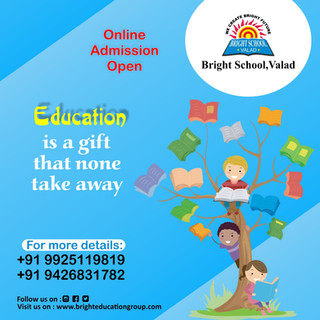 Bright school valad online admission ope
