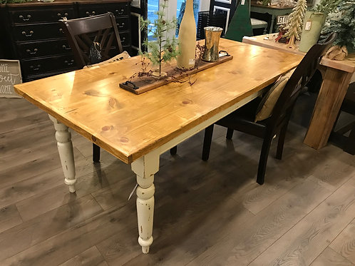 Shabby Farmhouse Dining Table - A2