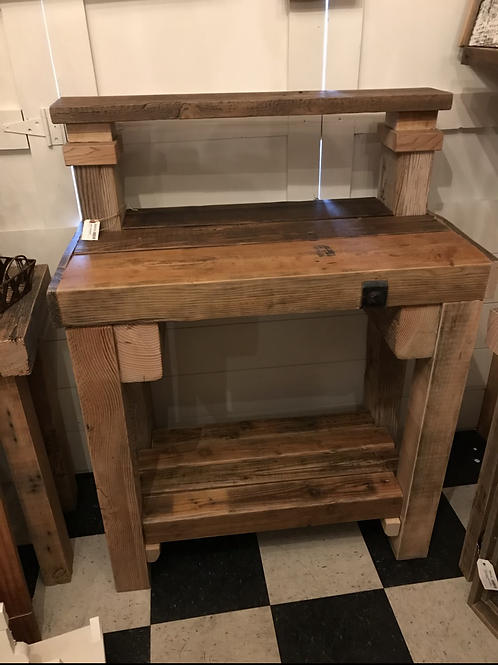 Rustic work bench - A1