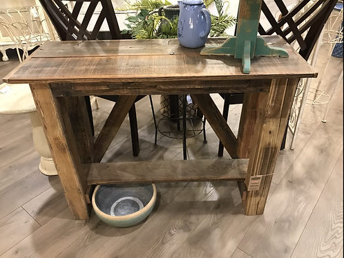 Rustic Accent Table - A2