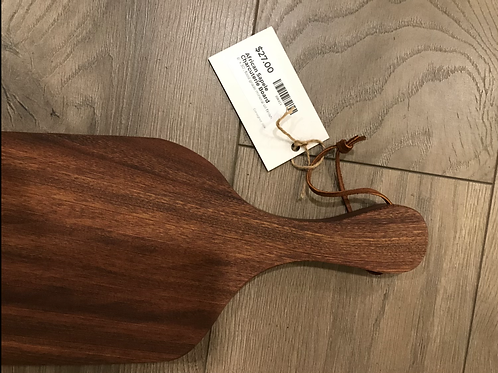 African Sapele Charcuterie Board with hole - A2