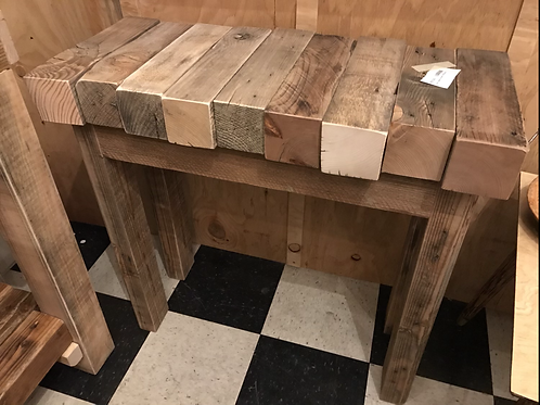 Rustic table made from 4 x 4's - A1