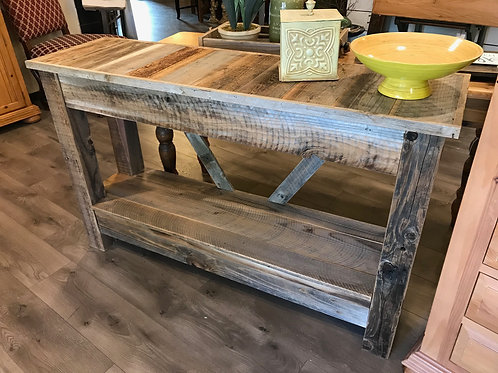 rustic console table - A2