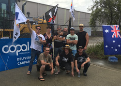 170329 KW with staff of Copal Engineering on picket line
