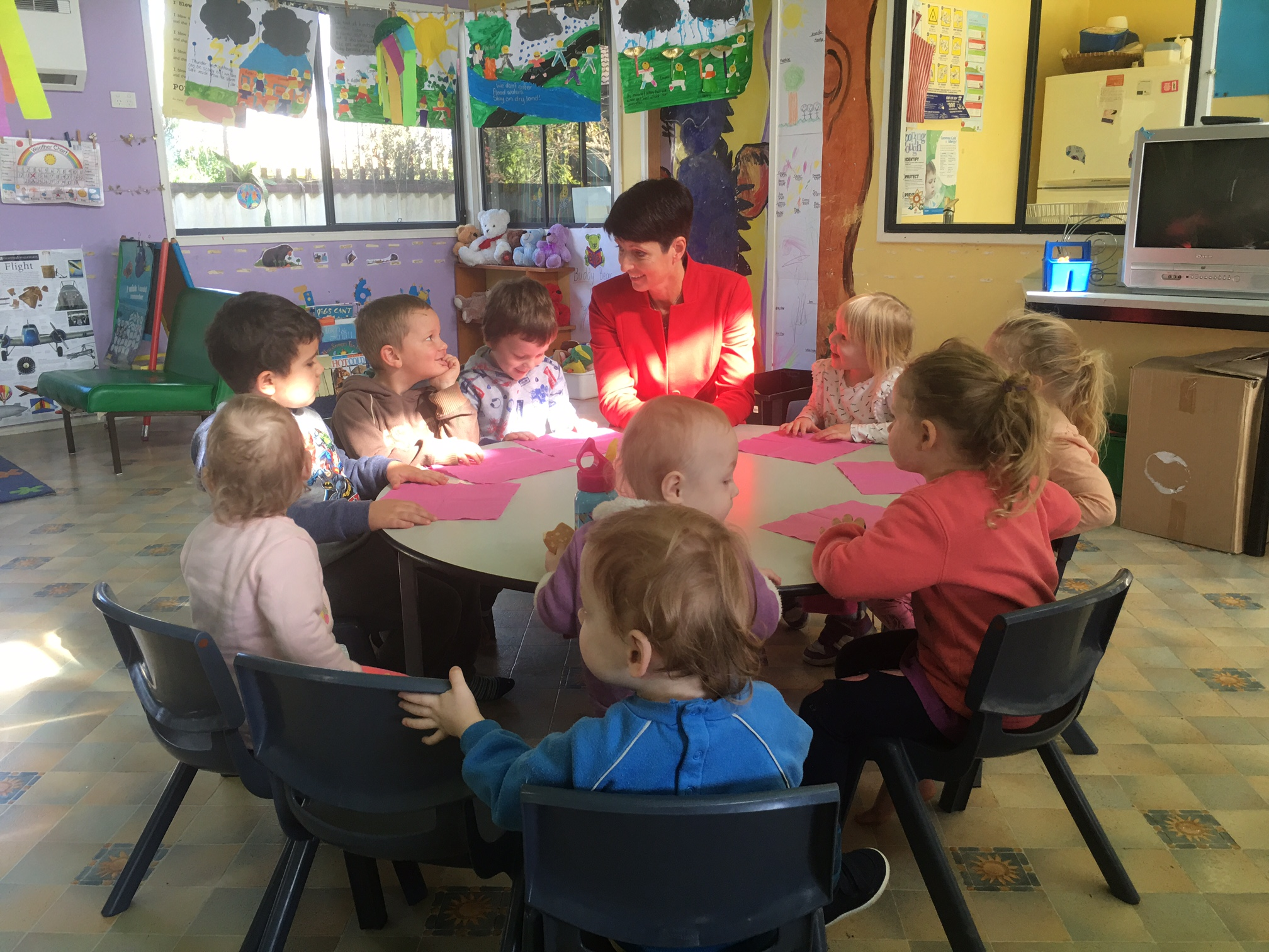 170614 KW visit to Telegraph Point Children's Centre Preschool