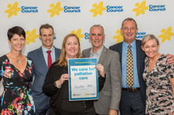 170329 Hunter MPs at Cancer Council Palliative Care campaign launch