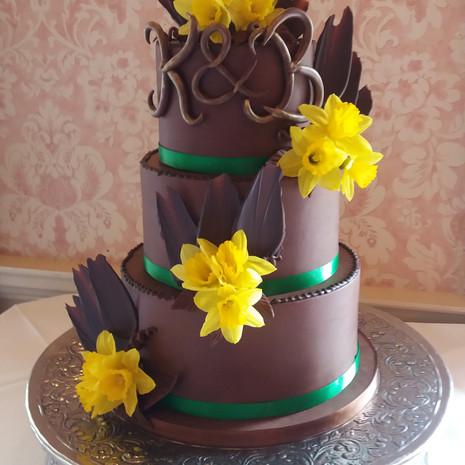 Chocolate and Daffodils