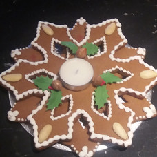 Gingerbread Candle Holder
