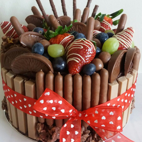 Chocolate Fingers and Bow