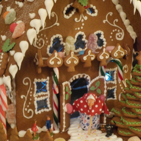 Gingerbread Close up