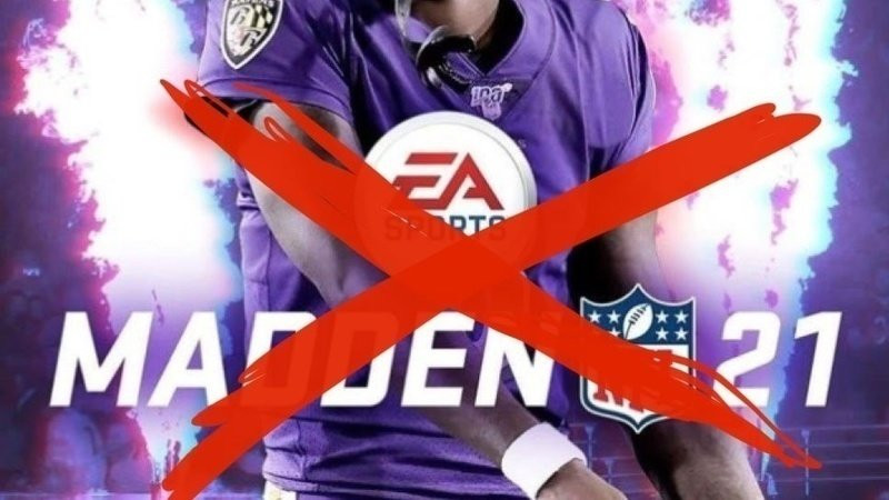 Madden 21 cover with boycott madden cross