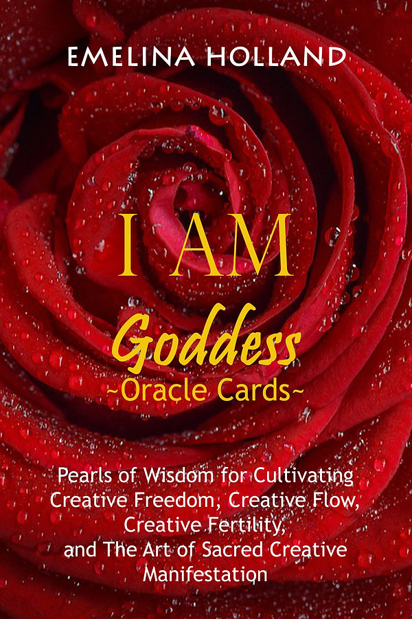 I AM GODDESS ORACLE cards and book  fina