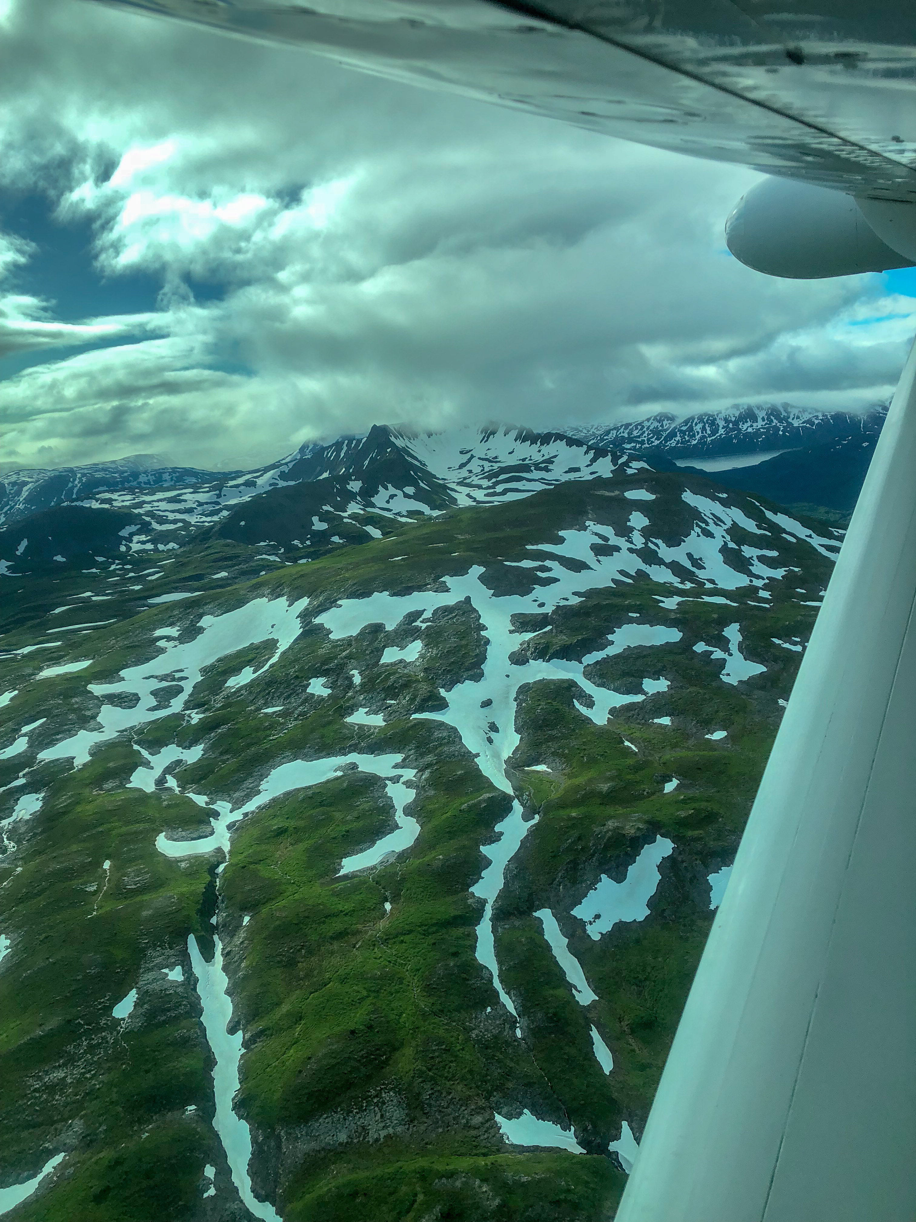 July 2018 Kodiak from the air