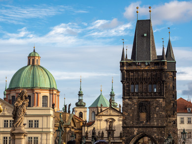 From the Charles Bridge