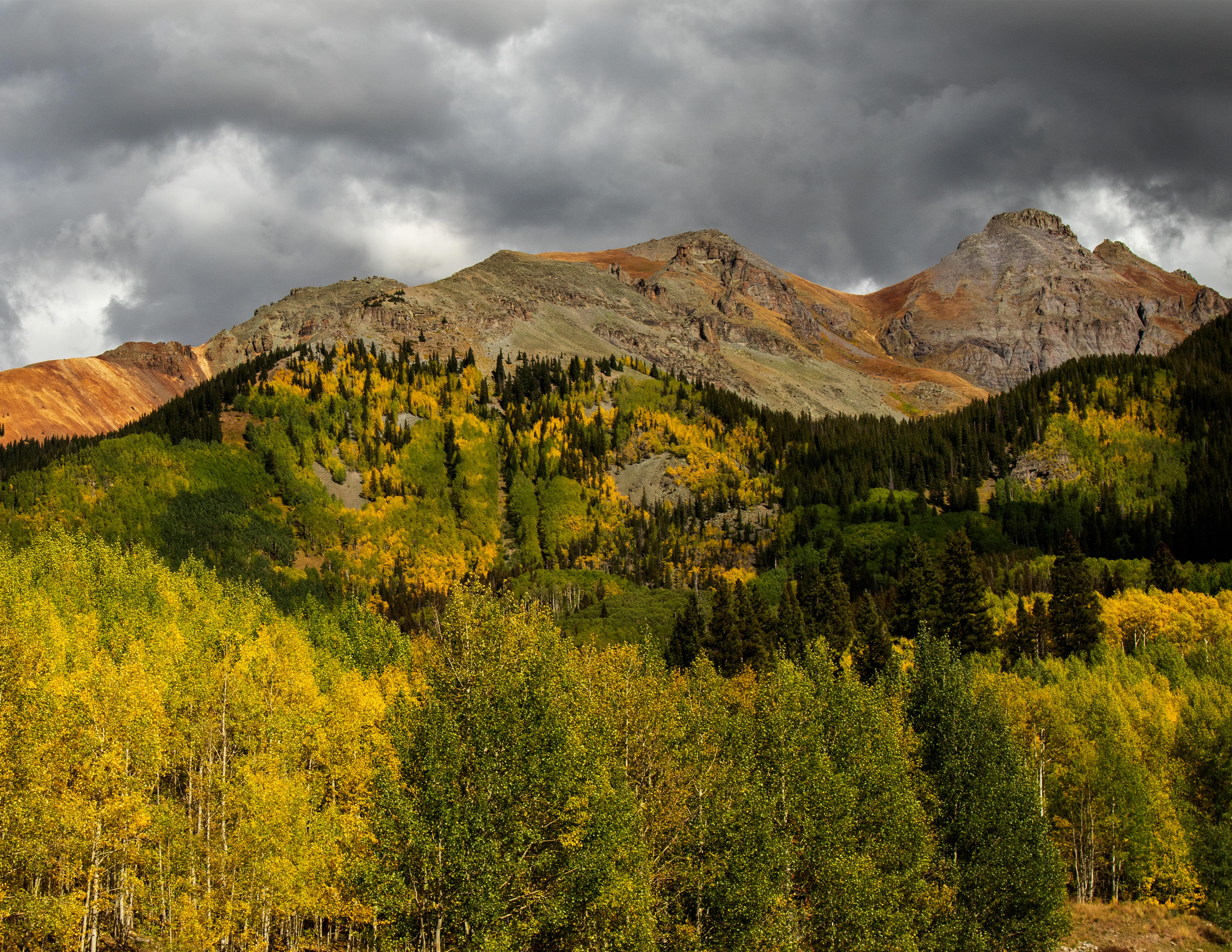Wyoming, Utah and Colorado