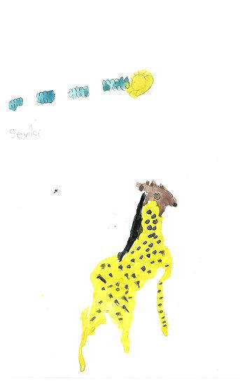 """""""giraffe"""" - by Selvia - Namibia"""