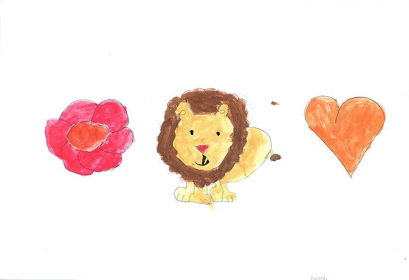 """lion"" - by Imelda - Namibia"