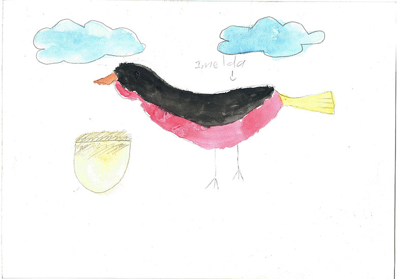 """bird"" - by Imelda - Namibia"