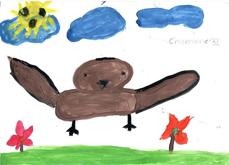 """bird"" - by Charmaine - Namibia"