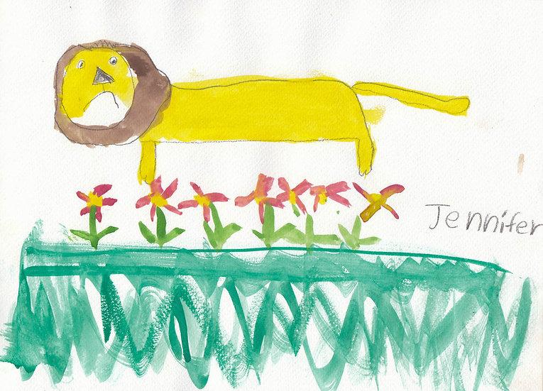 """lion"" - by Jennifer - Namibia"